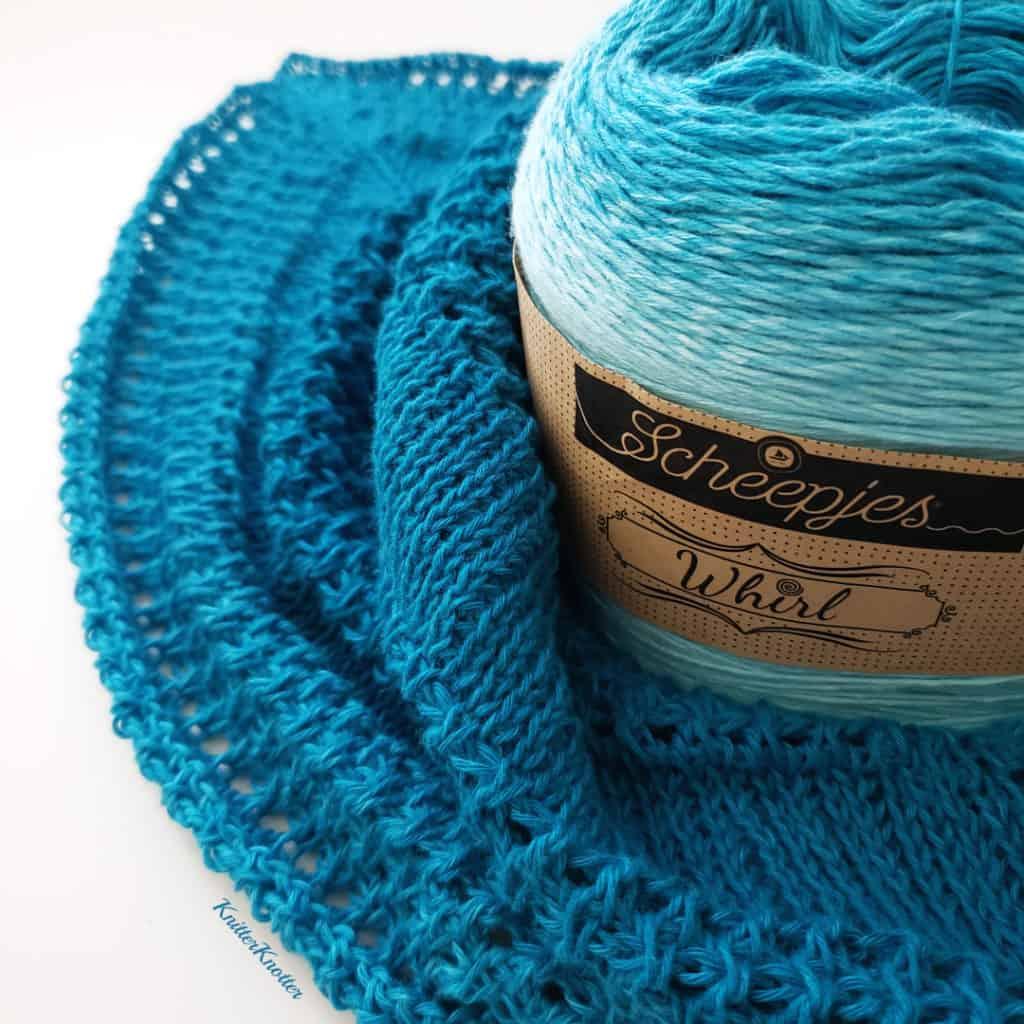 Ruffled Waters Shawl - Free pattern! - KnitterKnotter