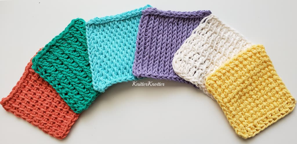 6 Tunisian crochet stitches to get you started!