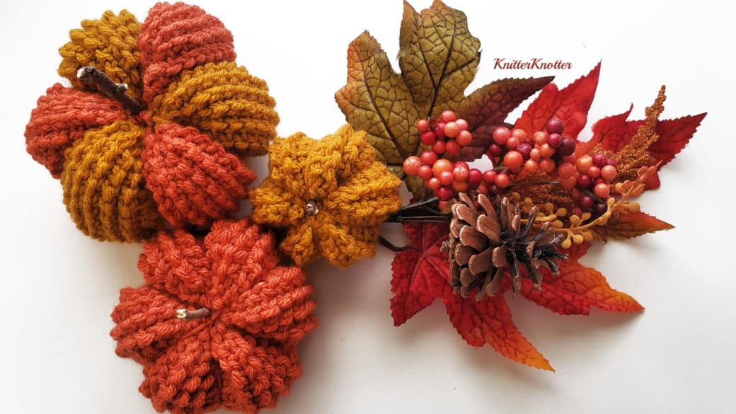 Tunisian Fall Pumpkins – Free Pattern!!
