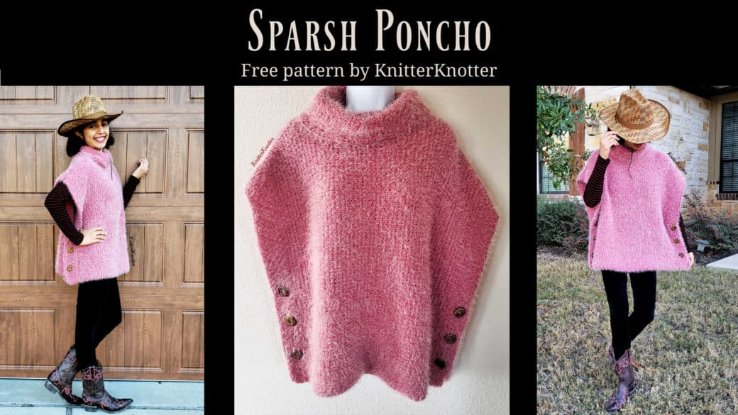 Sparsh Poncho – Free Pattern!