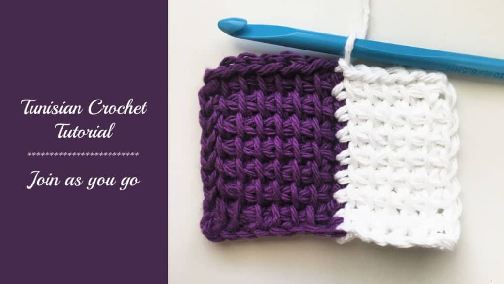 Tunisian Crochet Tutorial – Join as you go