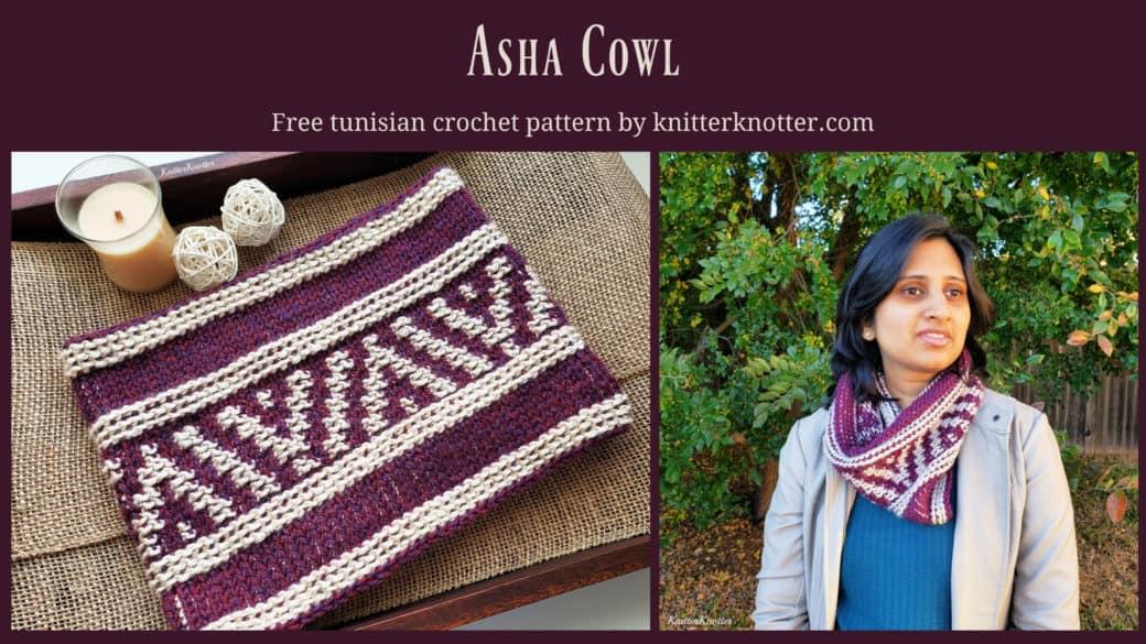 Asha cowl – Free pattern!