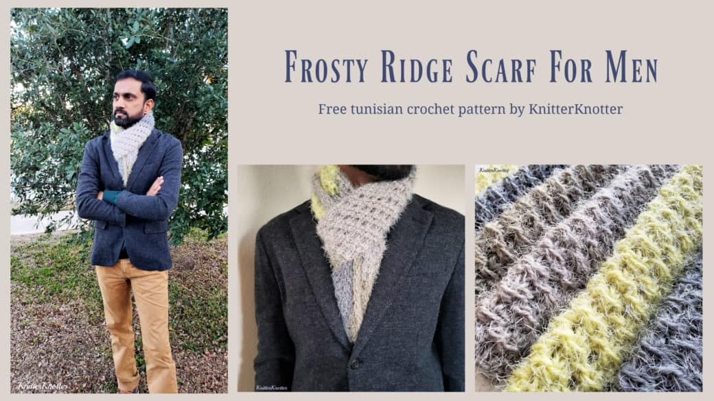 Frosty Ridge Scarf – Free Pattern!