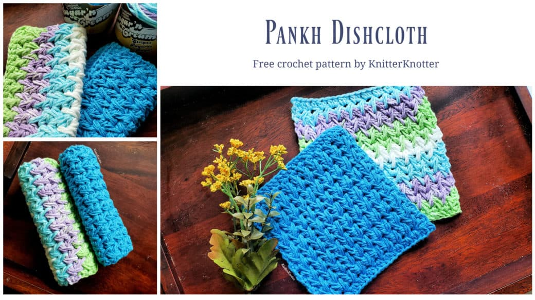 Pankh Dishcloth – Free Pattern!