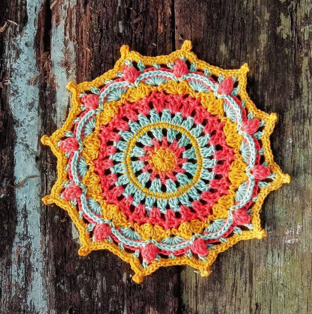 Asti Doily Pattern created by Tayu Purnamasari